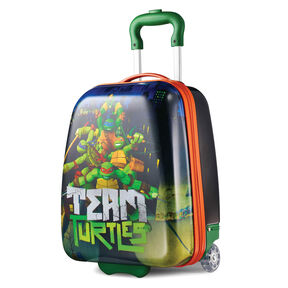 "American Tourister Nickelodeon 18"" Hardside Upright in the color Ninja Turtles."