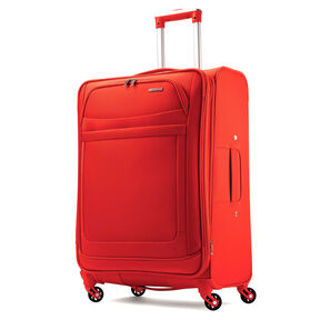 """American Tourister iLite Max 25"""" Spinner in the color Tangerine."""
