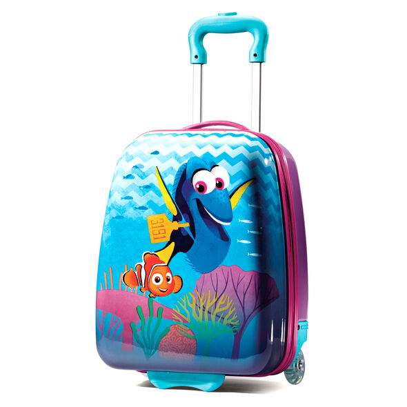 """American Tourister Disney 18"""" Hardside Upright in the color Finding Dory."""