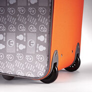 """American Tourister Star Wars 18"""" Upright in the color BB8."""