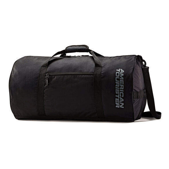 """American Tourister 26"""" All Day Duffel in the color Black."""