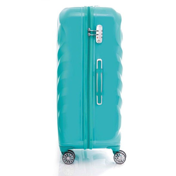 "Z-Lite DLX 20"" Spinner in the color Pastel Turquoise."