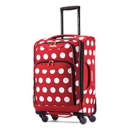 """American Tourister Disney Minnie Mouse 21"""" Spinner in the color Minnie Mouse Polka Dot."""