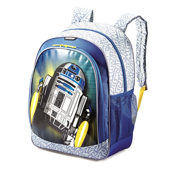 American Tourister Disney Backpack in the color Star Wars R2D2.