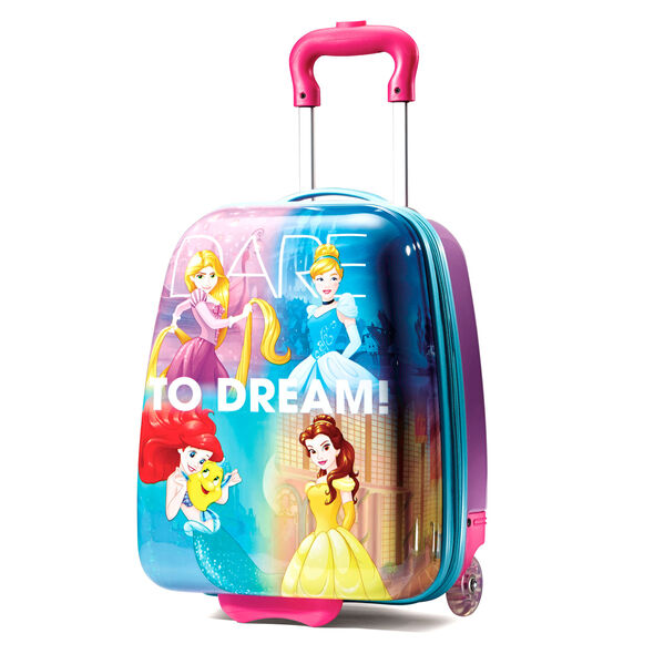 """American Tourister Disney 18"""" Hardside Upright in the color Princess."""