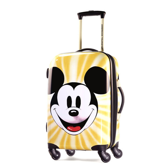 """American Tourister Disney Mickey Mouse 21"""" Hardside Spinner in the color Mickey Mouse Face."""