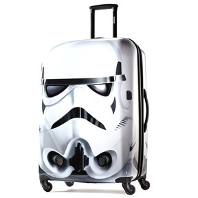 "American Tourister Star Wars 28"" Spinner in the color Storm Trooper."
