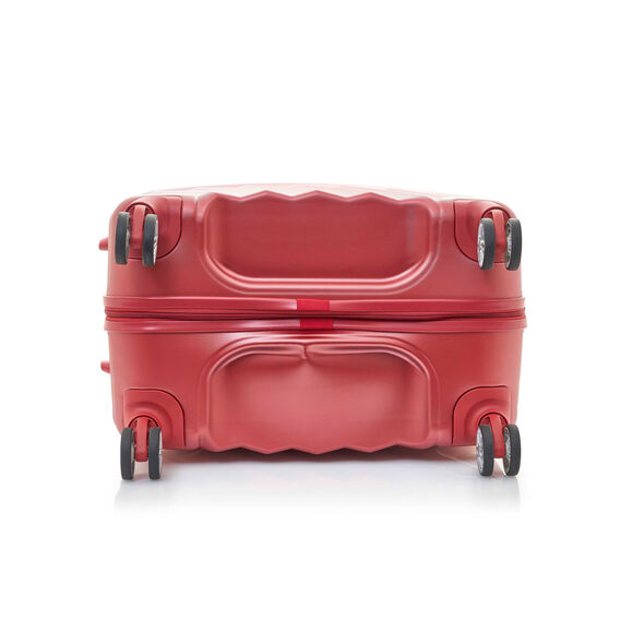 """Z-Lite DLX 24"""" Spinner in the color Autumn Red."""