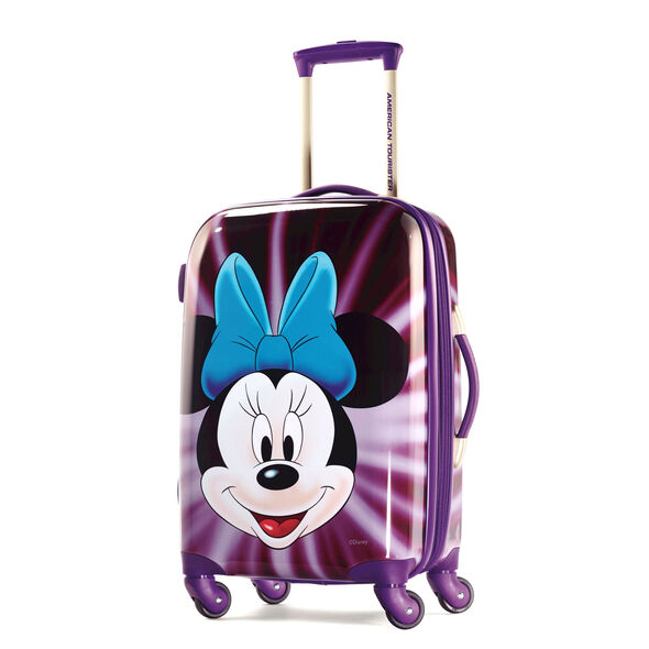 """American Tourister Disney Minnie Mouse 21"""" Hardside Spinner in the color Minnie Mouse Face."""