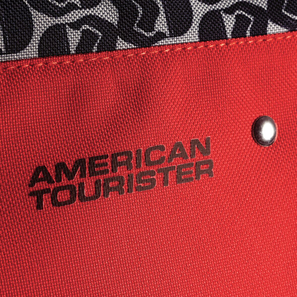 """American Tourister Star Wars 18"""" Upright in the color Kyloren."""