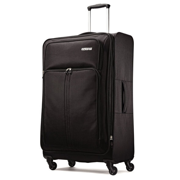 "American Tourister Splash Spin LTE 28"" Spinner in the color Blue."