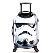 """American Tourister Star Wars 21"""" Spinner in the color Storm Trooper."""
