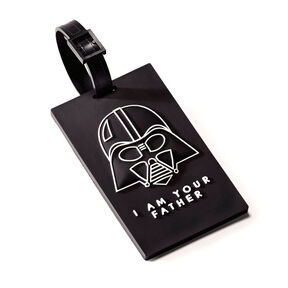 American Tourister Star Wars Luggage Tag in the color Darth Vader.