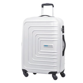 "American Tourister Sunset Cruise 28"" Spinner in the color Cloud White."