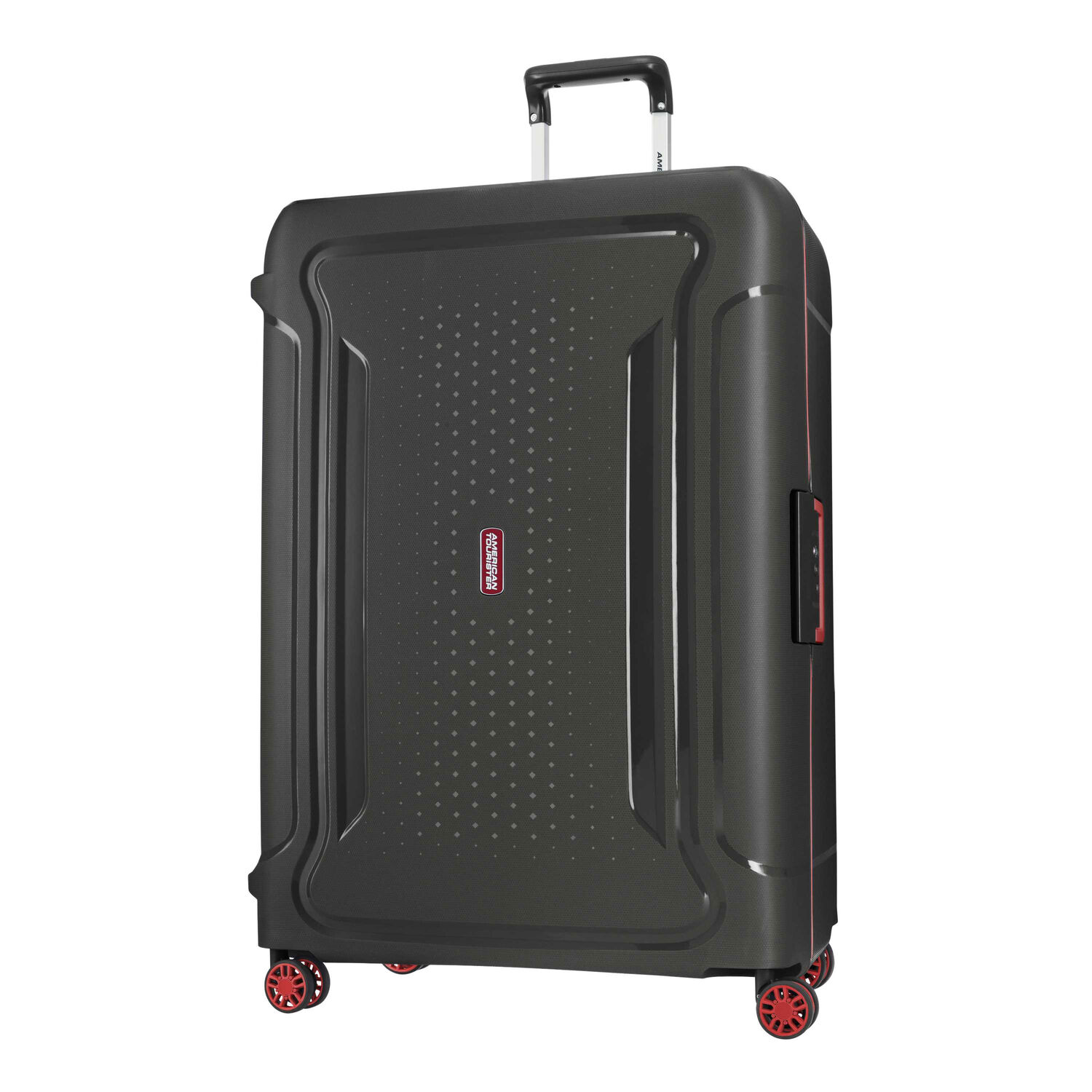 """American Tourister Tribus 29"""" Spinner in the color Black."""