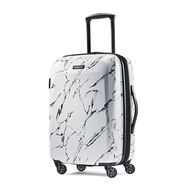 "American Tourister Moonlight 21"" Spinner in the color Marble."