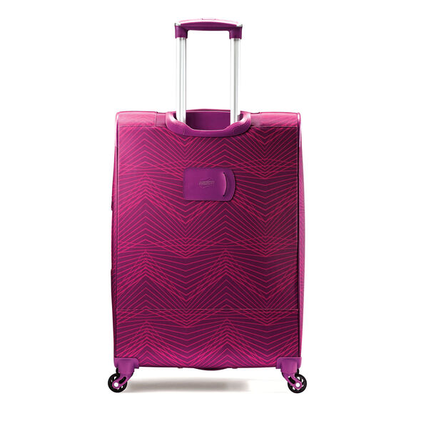"""American Tourister iLite Max 29"""" Spinner in the color Pink/Purple Stripes."""