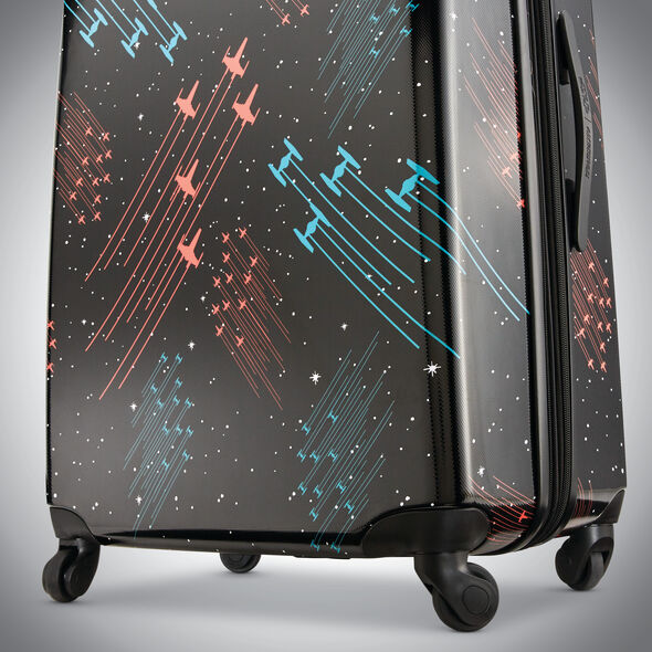 """American Tourister Star Wars Battle 28"""" Spinner in the color Star Wars Galaxy."""