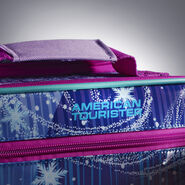 "American Tourister Disney 18"" Softside Upright in the color Frozen."