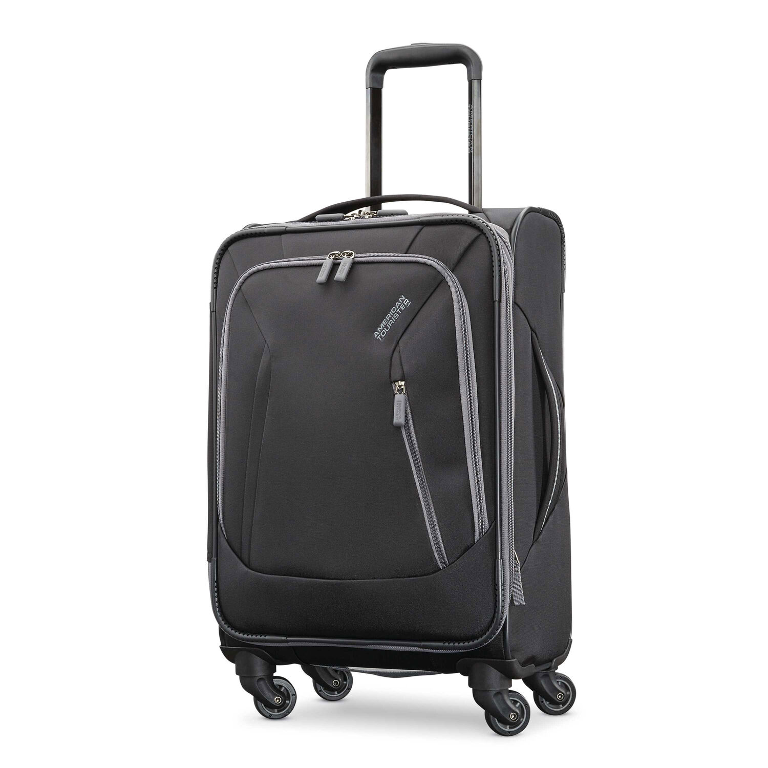 """American Tourister Sonic 21"""" Spinner in the color Black."""