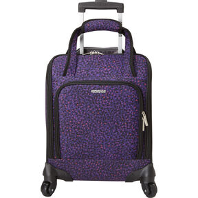 American Tourister Lynnwood Spinner Underseater in the color Purple Print.