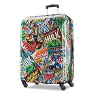 "American Tourister Marvel Comics 28"" Spinner in the color Comics."