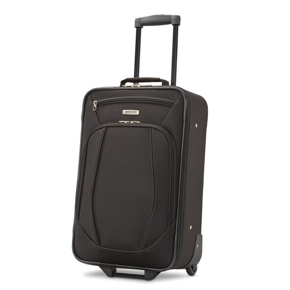 American Tourister Riverbend 4 Piece Set in the color Black.