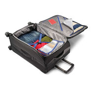 """American Tourister Zoom 25"""" Spinner in the color Black."""
