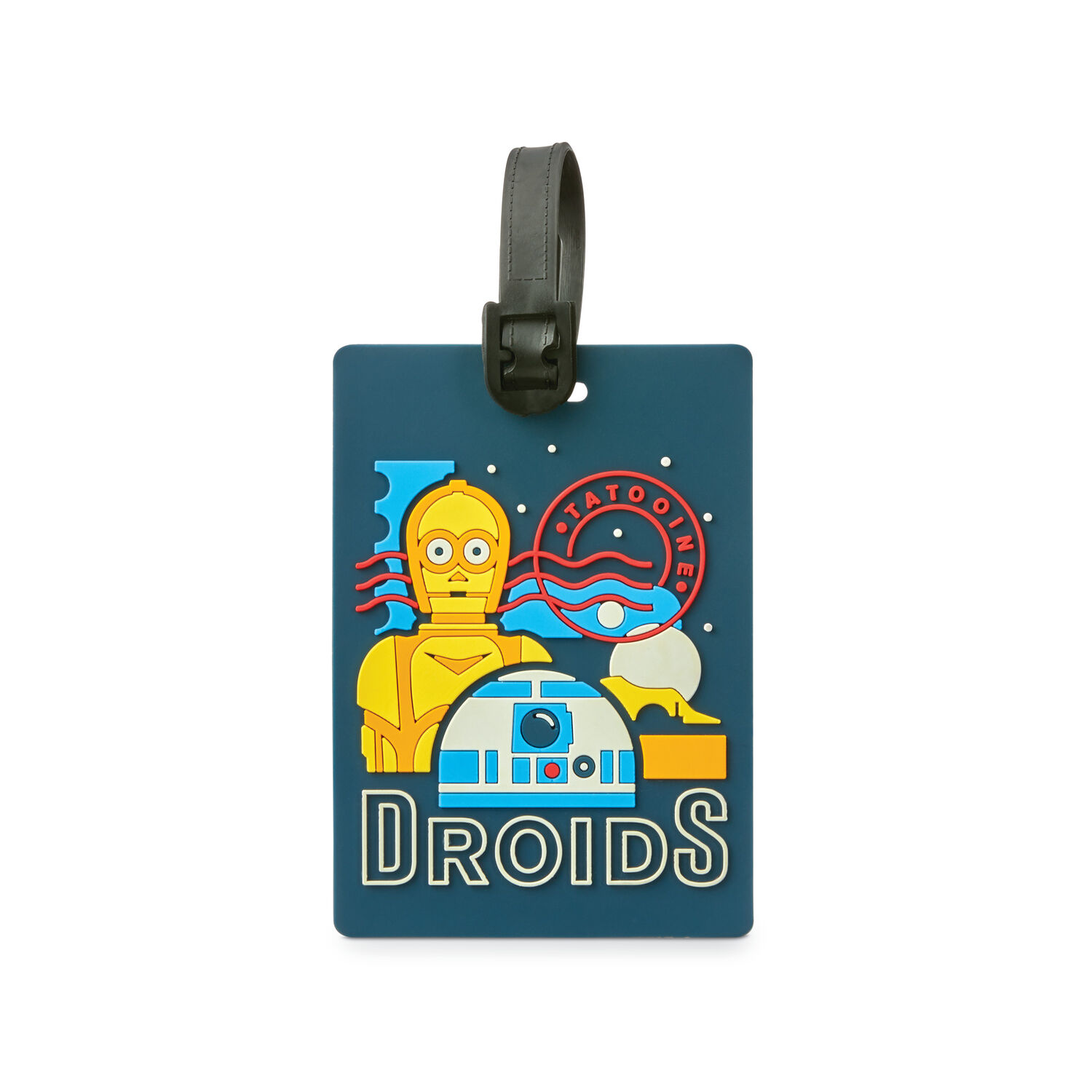 American Tourister Star Wars ID Tag in the color Star Wars R2D2.