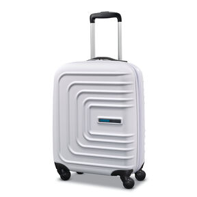 """American Tourister Sunset Cruise 20"""" Spinner in the color Cloud White."""