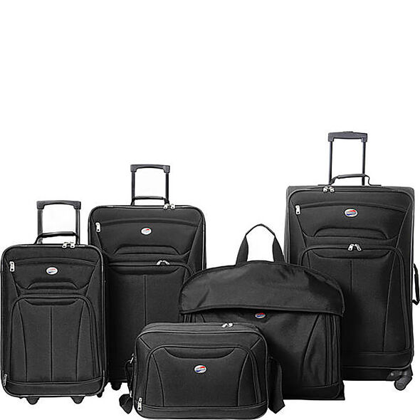 Wakefield 5 Piece Set in the color Black.