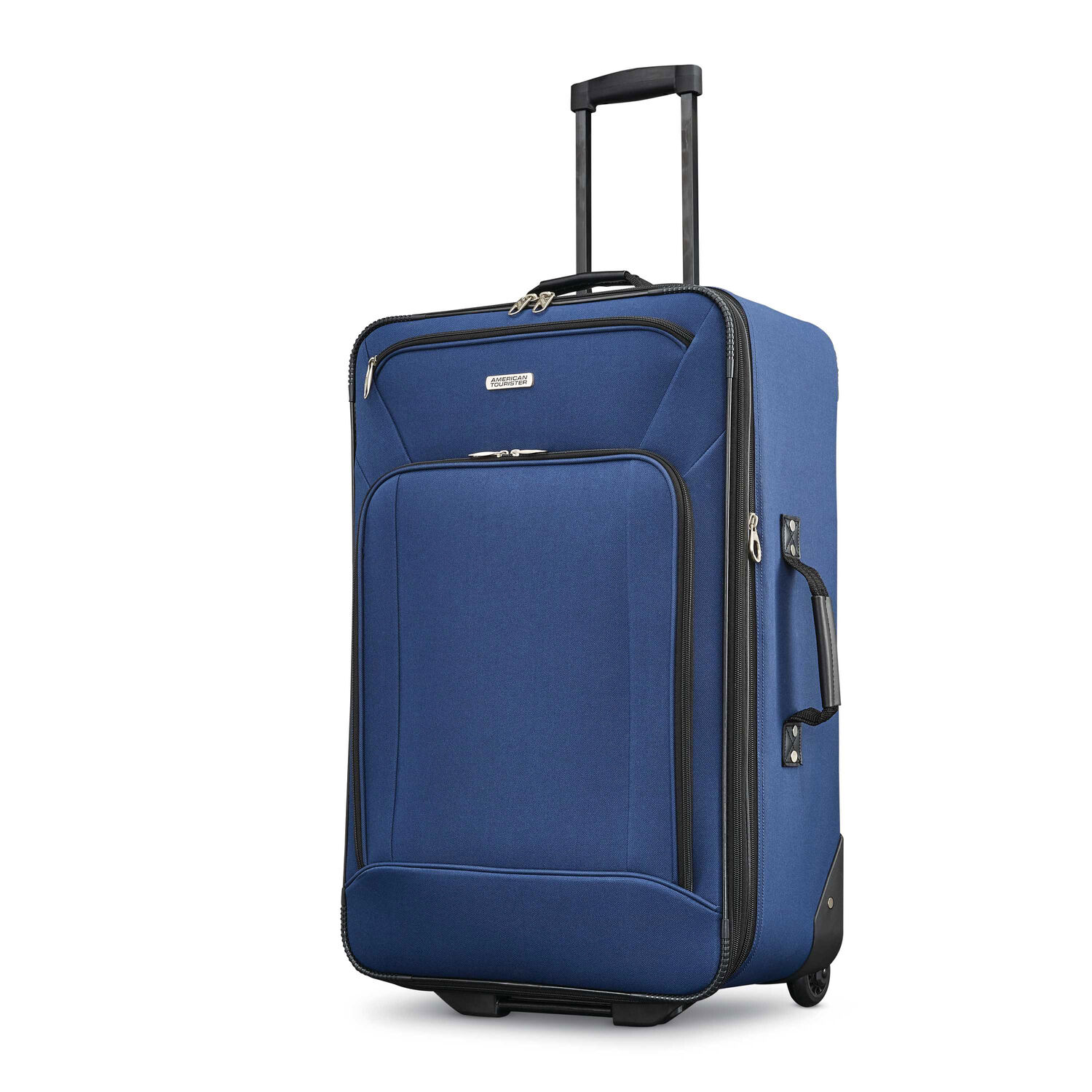 fd31ead6d American Tourister Fieldbrook XLT 4 Piece Set in the color Navy.