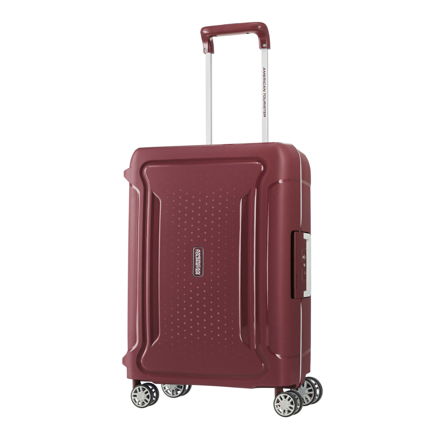 American Tourister Tribus 20 Spinner In The Color Red