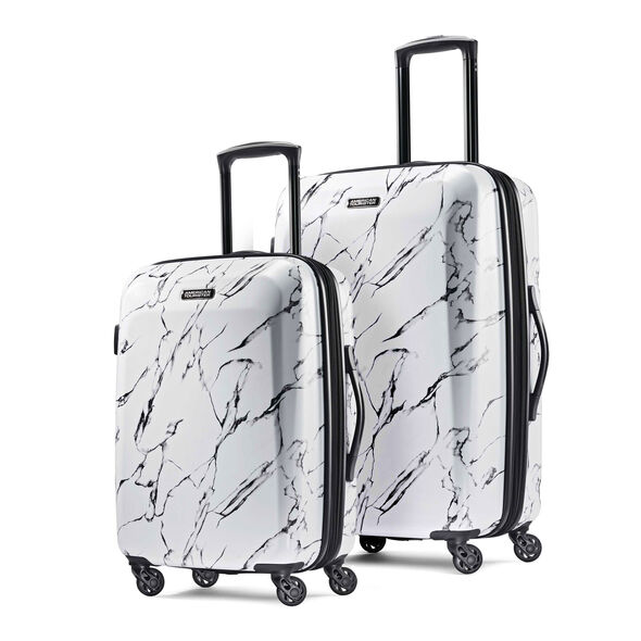 American Tourister Moonlight 2 Piece Set in the color Marble.