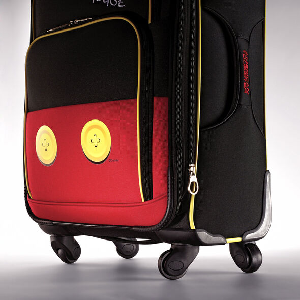 "American Tourister Disney Mickey Mouse 21"" Spinner in the color Mickey Mouse Pants."