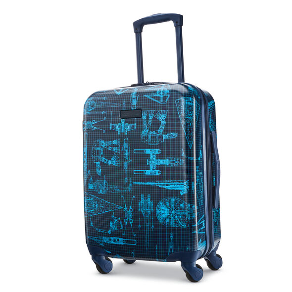 "American Tourister Star Wars Tech 20"" Spinner in the color Star Wars Intergalactic."