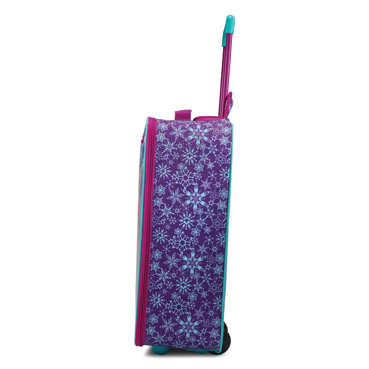 ecb7f790ea32 American Tourister Disney 18 quot  Softside Upright in the color Frozen.