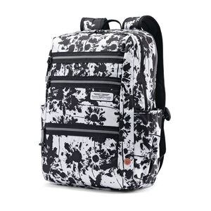 Straight Shooter Backpack in the color Black Floral.