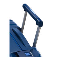 """American Tourister Lock-N-Roll 20"""" Spinner in the color Nocturne Blue."""