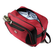 American Tourister Fieldbrook II 3 Piece Set in the color Red/Black.