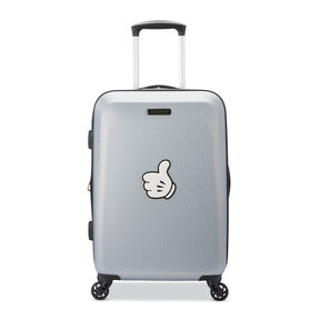 American Tourister Disney Luggage Stickers in the color Mickey Stamp White.
