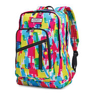American Tourister Keystone Backpack in the color Popsicle.
