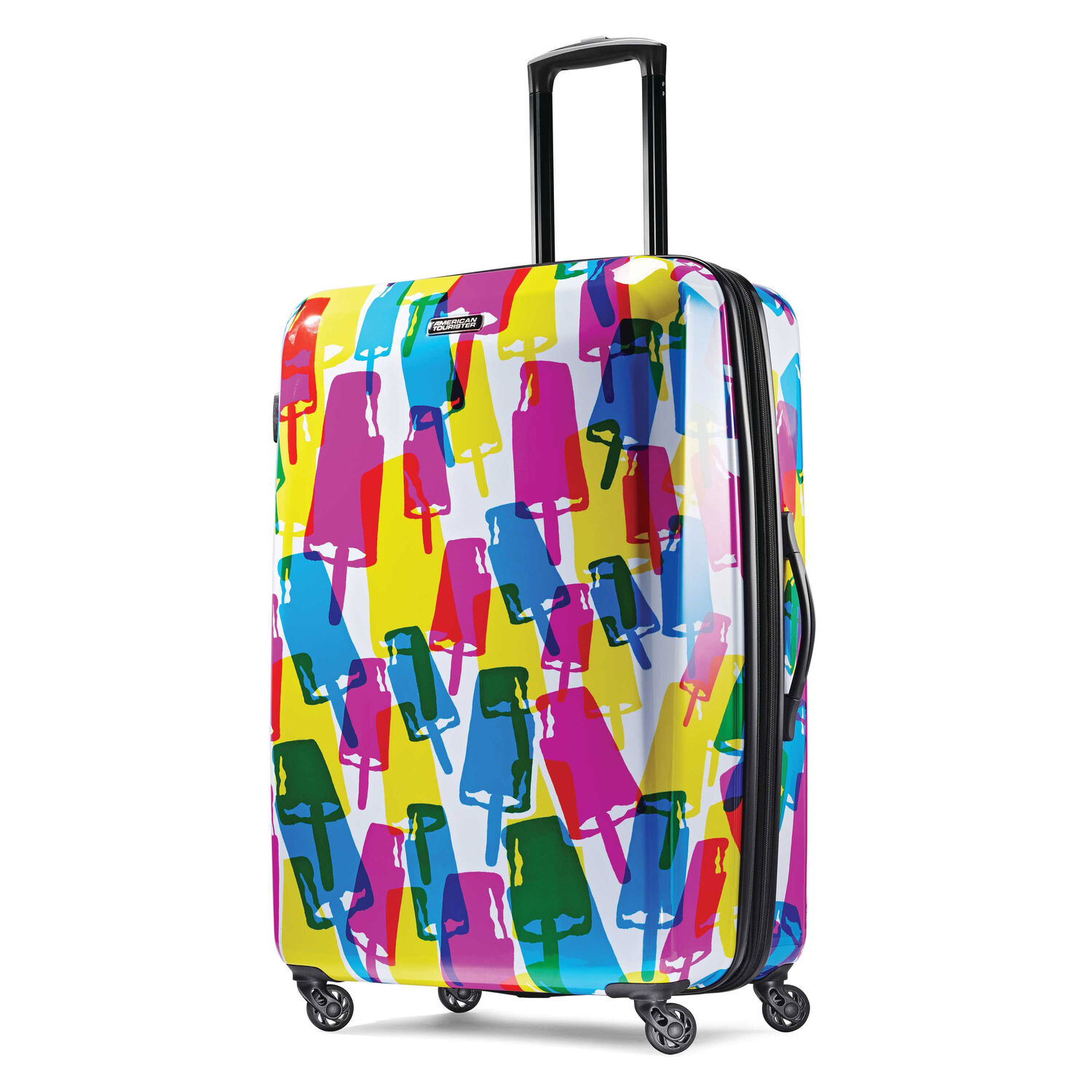 """American Tourister Moonlight 28"""" Spinner in the color Popsicle."""