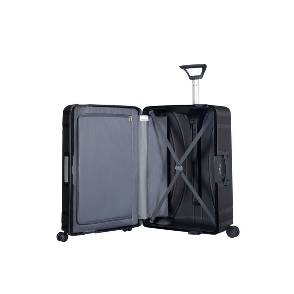 "American Tourister Lock-N-Roll 28"" Spinner in the color Jet Black."