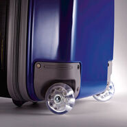 """American Tourister Disney 16"""" Hardside Upright in the color Star Wars R2D2."""