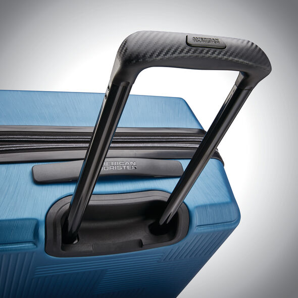 "American Tourister Stratum XLT 28"" Spinner in the color Blue."