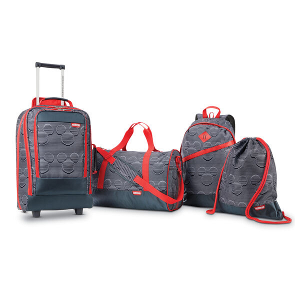 American Tourister Disney Mickey 4 Piece Set in the color Mickey Mouse Face.