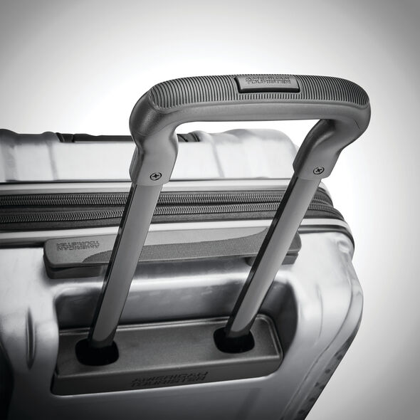 American Tourister Fender 2 Piece Set in the color Silver.