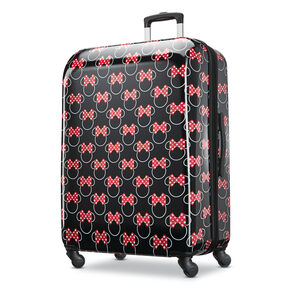 3faea1390 American Tourister Disney Minnie Bows 28 quot  Spinner in the color Minnie  Mouse Red ...
