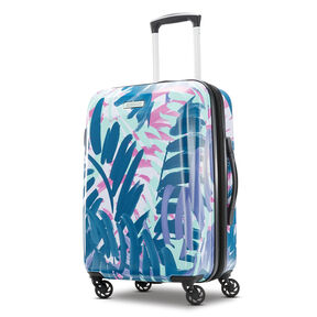 "American Tourister Moonlight 21"" Spinner in the color Palm Trees."